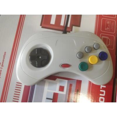 Джойстик Sega Saturn USB белый