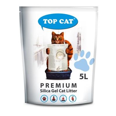 Наполнитель силикагелевый для кошачьего туалета 5 л