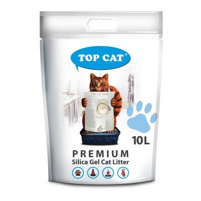 Наполнитель силикагелевый для кошачьего туалета 10 л