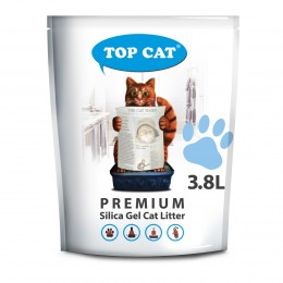 Наполнитель силикагелевый для кошачьего туалета 3,8 л