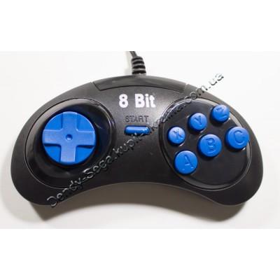 Джойстик  Денди 8 бит синие кнопки