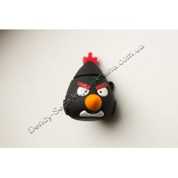 Флешка-подарок Angry Bird 8 Гб (черная)