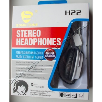 Наушники с микрофоном Somic Tone H22 купить недорого по низкой цене