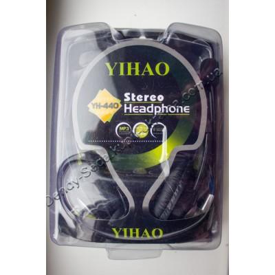 Наушники с микрофоном Yihao YH-440 купить недорого по низкой цене