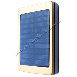 Power Bank Solar с фонариком (25000 мАч)