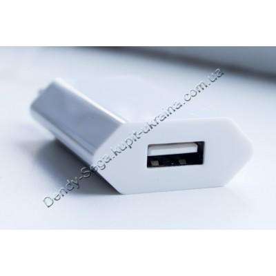 ЮСБ зарядка для телефона 1000 мАч (плоская) купить недорого по низкой цене