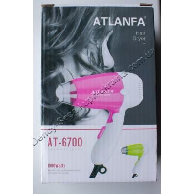 Фен для волос дорожный AT-6700 1000 Вт купить недорого по низкой цене
