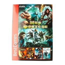 Диск PS-2 (6 в 1) Мир Фентези (Castlevania: Curse of Darkness/ Baldurs Gate: Dark Alliance 2/ The Lord of the Rings/ Harry Potter and the Haf-Blood Prince/ Conan/ Fatal Frame 3)