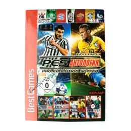Диск PS-2 (4 в 1) PES Антология Pro Eulution Soccer (PES 2009/ 2010/ 2016/ FIFA 2014)