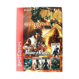Диск PS-2 (5 в 1) God of War 1-2/ Prince of Persia: Warrior Within/ The Sands of Time/ The Two Therones