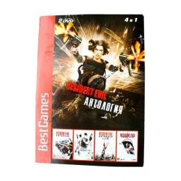 Диск PS-2 (4 в 1) Resident Evil Антология