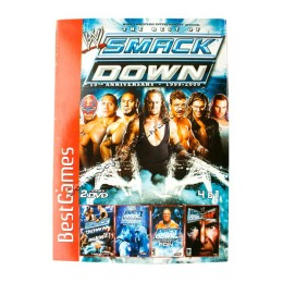 Диск PS-2 (4 в 1) WWF Smack Down