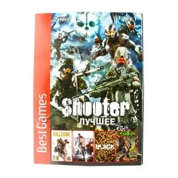 Диск PS-2 (4 в 1) Шутеры (Black/ Battlefield 2/ Kill Zone/ Turok)