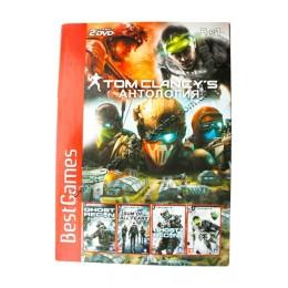 Диск PS-2 (4 в 1) Tom Clancys Антология