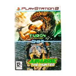 Диск PS-2 (2 в 1) Turok Evolution/ Jurassic the Hunted