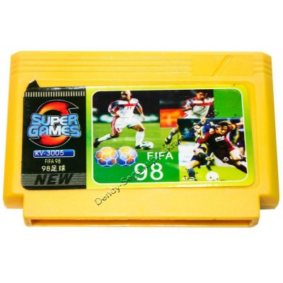 Картридж Dendy 8 bit FIFA 98: Futbol