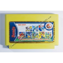 8 в 1 Darkwing Duck/ Super Mario 1+11+14+16/ Dr. Mario/ Jungle Book