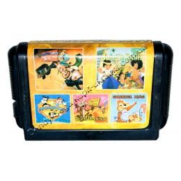 Картридж (в коробке) Сега 5 в 1 Earthoworm Jim 2/ Jungle Book