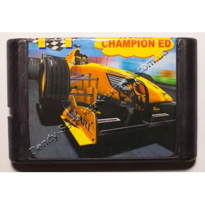 Картридж Sega Mega Drive 16 bit F1 World Champion
