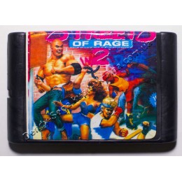 Картридж Сега Street of Rage 2