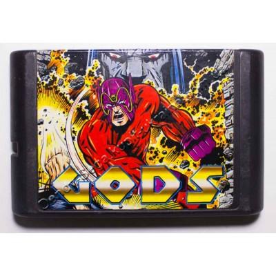 Картридж Sega Mega Drive 16 bit Gods
