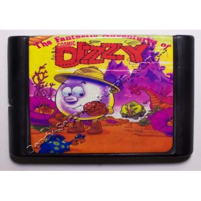 Картридж Sega Mega Drive 16 bit Dizzi