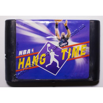 Картридж Sega Mega Drive 16 bit NBA Hang Time Баскетбол