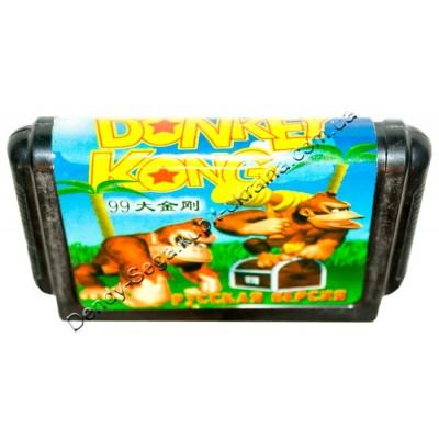 Картридж Sega 16 bit Donkey Kong (Донки Конг)