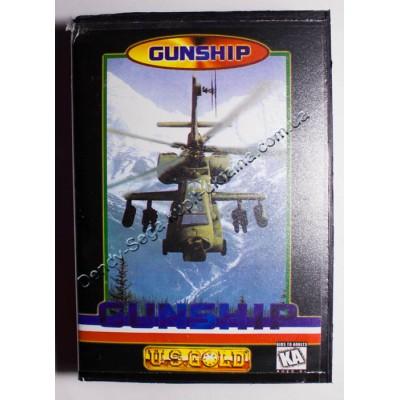 Картридж Sega Mega Drive 16 bit Gunship (в коробке)