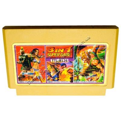 Картридж Dendy 8 bit Double Dragon-2-3-4