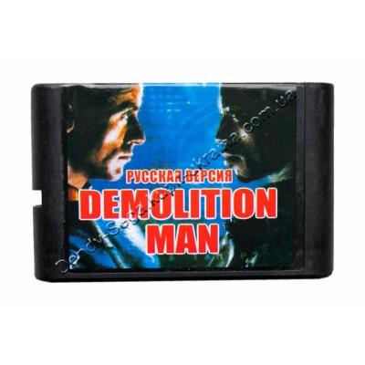 Картридж Sega 16 bit Demolition Man (Разрушитель)