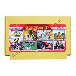 Картридж денди (125 в 1) Pac Man/ Bomberman/ Road Fighter