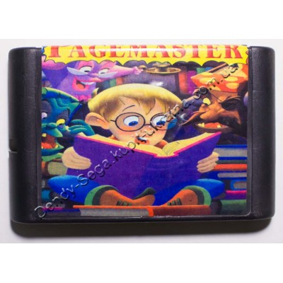 Картридж Sega Mega Drive 16 bit Pagemaster (Чернокнижник)