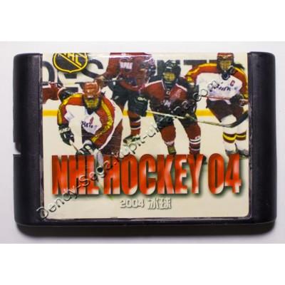 Картридж Sega Mega Drive 16 bit Hockey NHL 2004