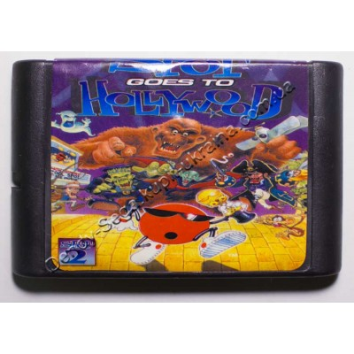 Картридж Sega Mega Drive 16 bit Spot Hollywod
