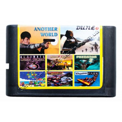 Картридж Sega (в коробке) MK-3-U/ Another World/ Predator-2/ Theme Park
