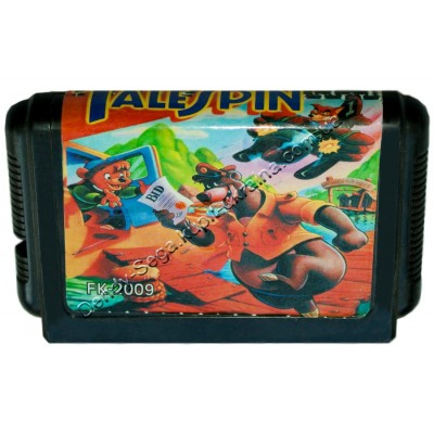 Картридж Sega 16 bit Tale Spin (Тале Спин)