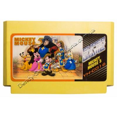 Картридж Dendy 8 bit Mickey Mouse 5