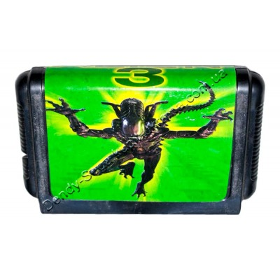 Картридж Sega 16 bit Alien 3 (Чужие 3)