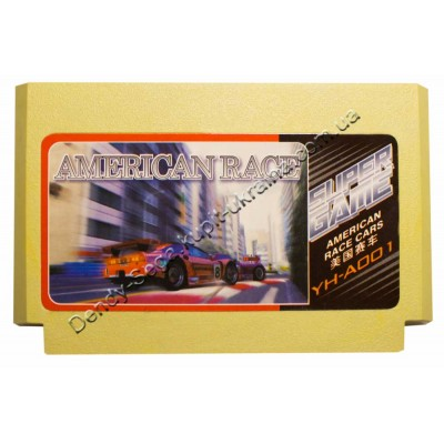 Картридж Dendy 8 bit American Race (Corvette ZR-1)