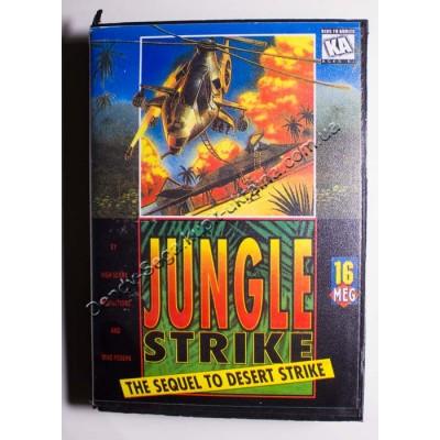 Картридж Sega Mega Drive 16 bit  Jungle Strike (в коробке)