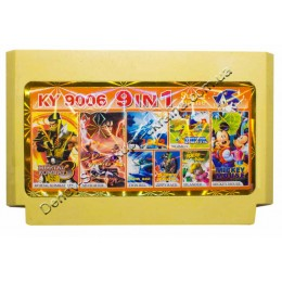 Картридж денди (9 в 1) MK3/ SD Fighter/ Adventure Island/ Zippy Race/ 1942