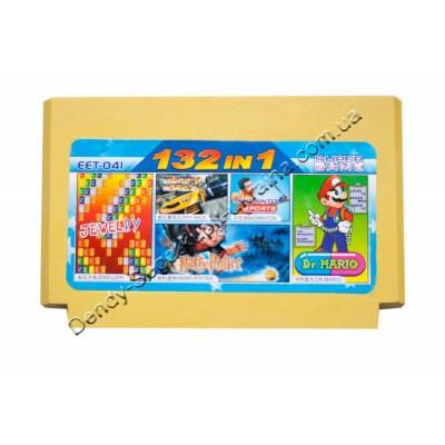 Картридж Dendy 8 bit Dr Mario/Zippy Race/Badminton