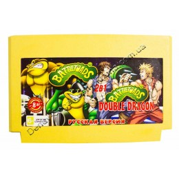 Картридж денди Battletoads 2: Double Dragon