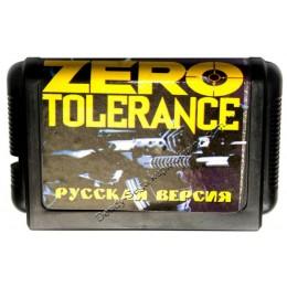 Картридж Сега Zero Tolerance (Зеро Толеранс)