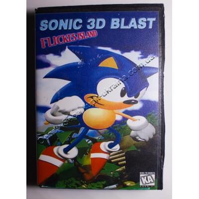 Картридж Sega Mega Drive 16 bit Sonic 3D Blast (в коробке)