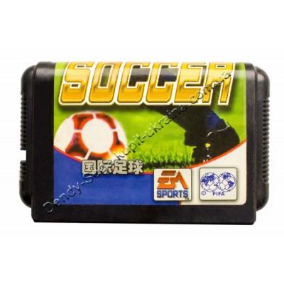 Картридж Sega 16 bit Soccer (Футбол)