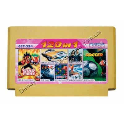 Картридж Dendy 8 bit Tank 90/Soccer/Star Force