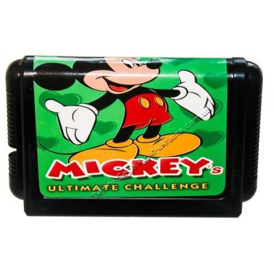Картридж Sega 16 bit Mickeys (Микки Маус)