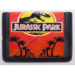 Картридж Сега Jurassic Park (Парк Юрского периода)